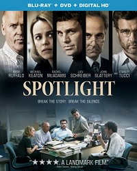 Spotlight Blu-ray Cover