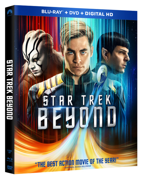 Star Trek Beyond Blu-ray Review
