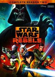 Star Wars Rebel Season 2 Blu-ray Cover