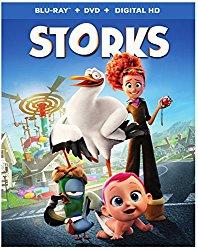 storks (Blu-ray + DVD + Digital HD)