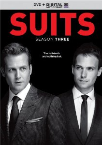 Suits: Season 3  (Blu-ray + DVD + DIGITAL HD with UltraViolet)