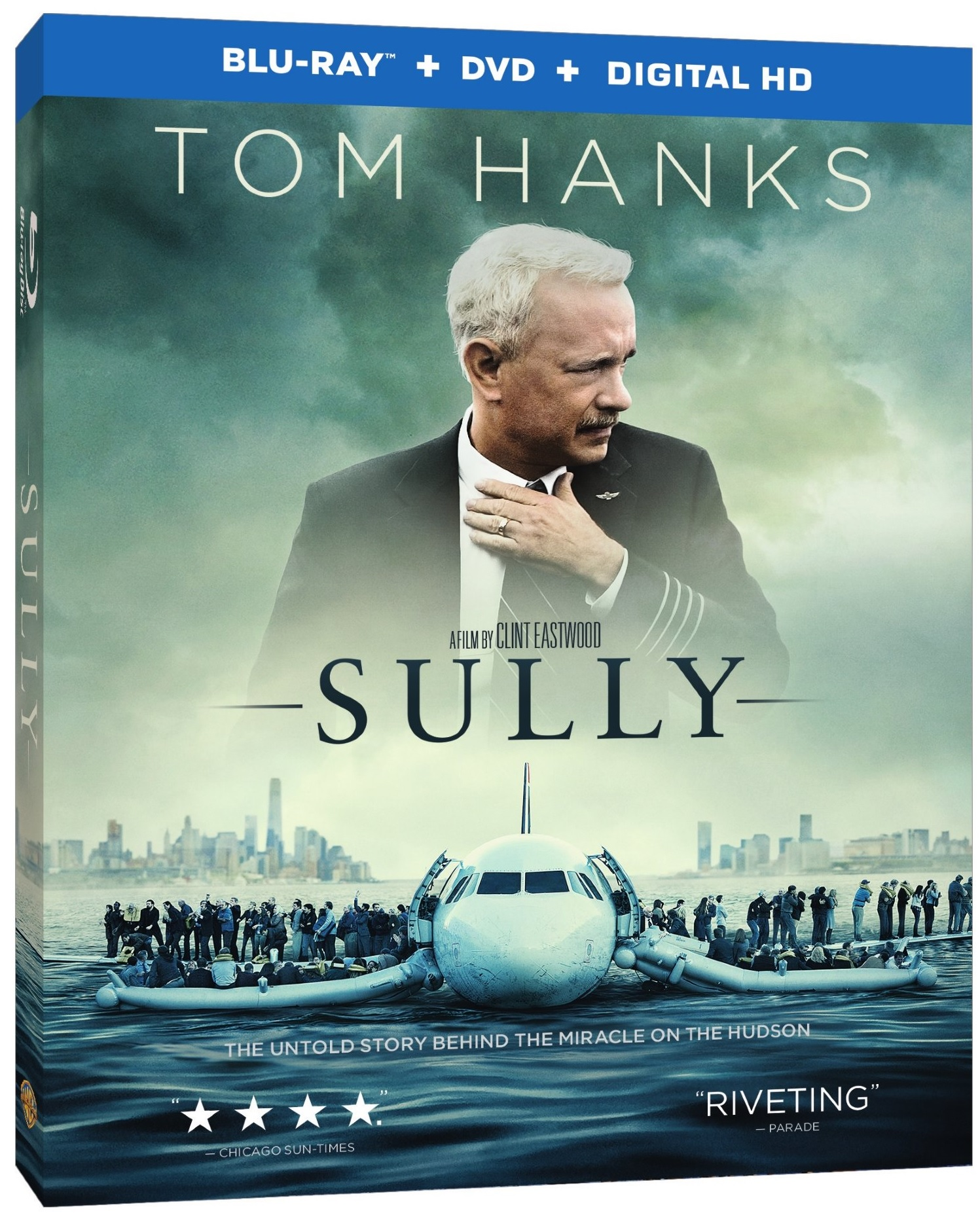 SULLY Blu-ray