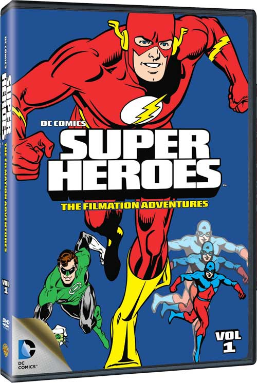 SUPER HEROES THE FILMATION ADVENTURES VOL 1 DVD
