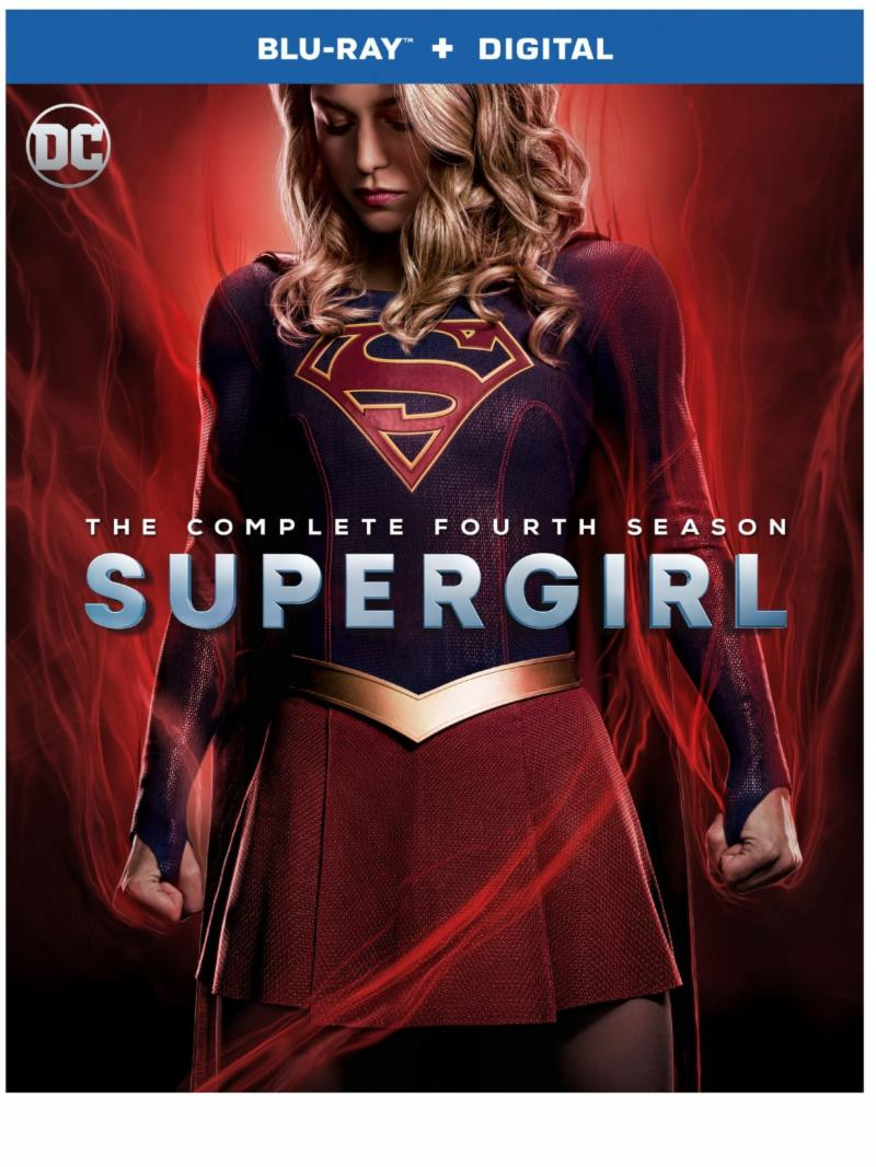 SUPERGIRL SEASON FOUR Blu-ray