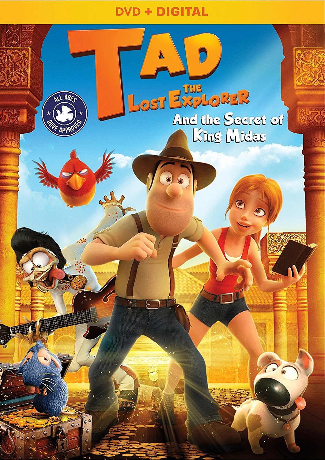 Tad, The Lost Explorer and the Secret of King Midas DVD Review