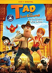 Tad, The Lost Explorer and the Secret of King Midas DVD