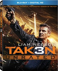 Taken 3 (Blu-ray + DVD + Digital HD)