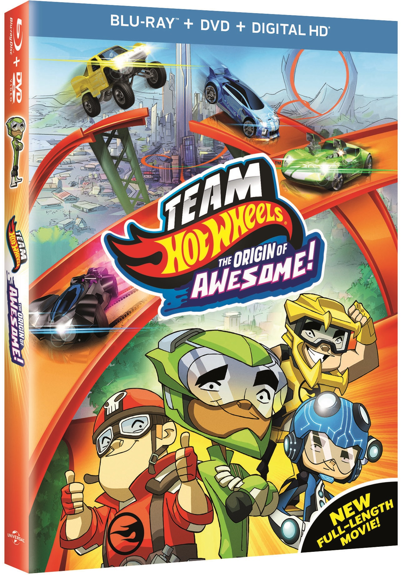Team Hot Wheels The Origin of Awesome Blu-ray Review