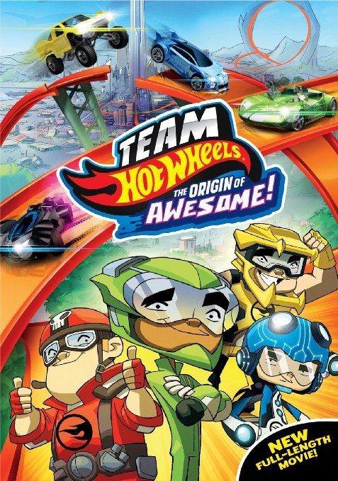 Team Hot Wheels The Origin of Awesome Blu-ray