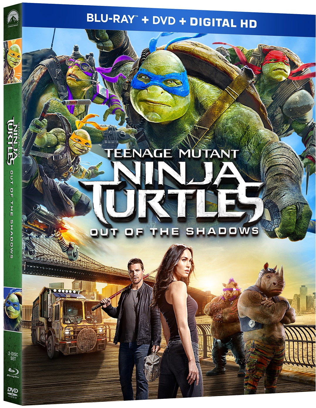 Teenage Mutant Ninja Turtles Out of The Shadows Blu-ray Review