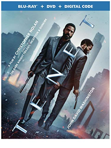 TENET(Blu-ray + DVD + Digital HD)