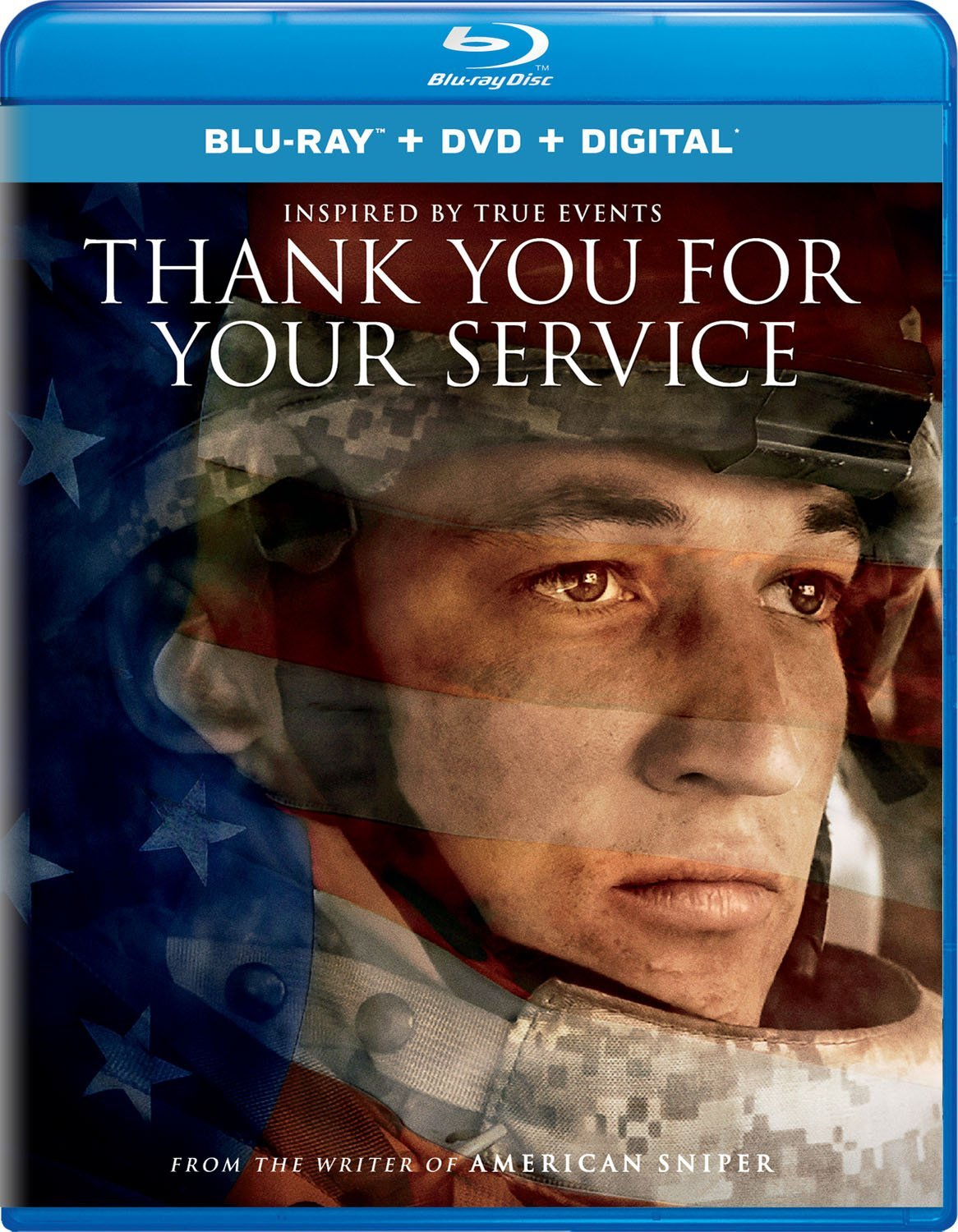 THANK YOU FOR YOUR SERVICE Blu-ray