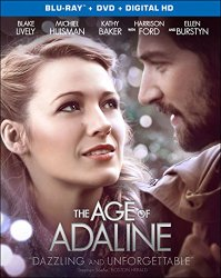 The Age of Adaline (Blu-ray + DVD + Digital HD)