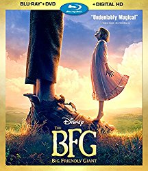 The BFG Blu-ray Cover