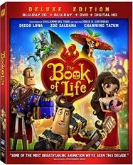 The Book of Life (Blu-ray + DVD + Digital HD)