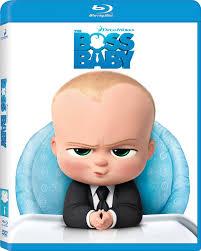 Boss Baby Blu-ray Cover