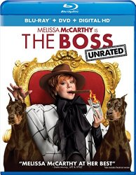 The Boss Blu-ray Cover