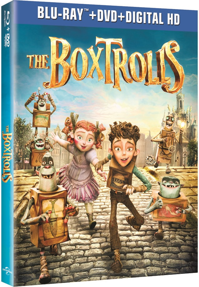 The BoxTrolls Blu-ray Review