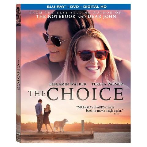 THE CHOICE Blu-ray