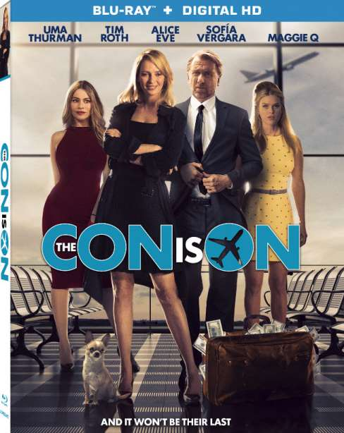 THE CON IS ON Blu-ray