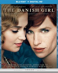 The Danish Girl Blu-ray Cover
