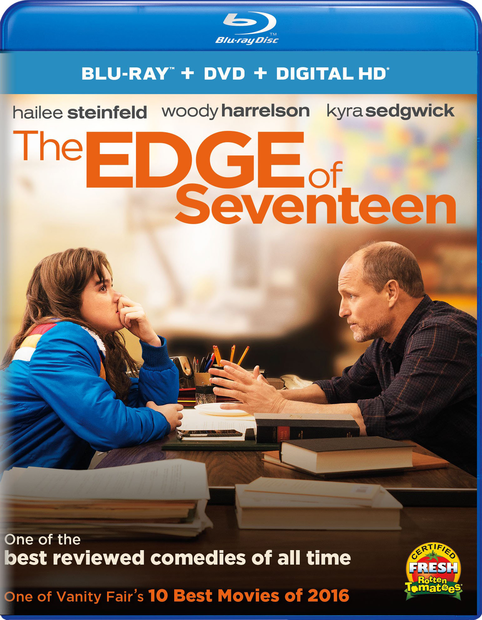 THE EDGE OF SEVENTEEN Blu-ray