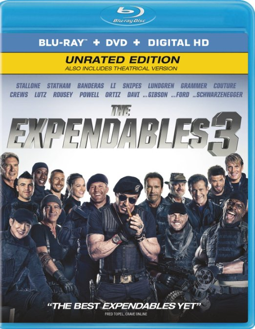 The Expendables 3 (Blu-ray + DVD + Digital HD)
