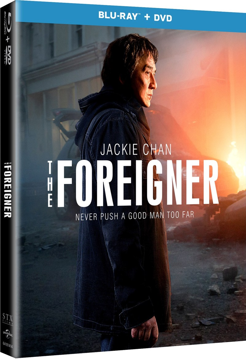 THE FOREIGNER Blu-ray