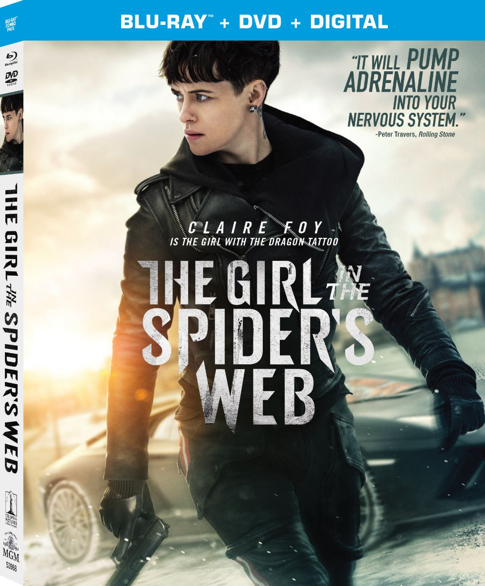 THE GIRL IN THE SPIDER'S WEB Blu-ray