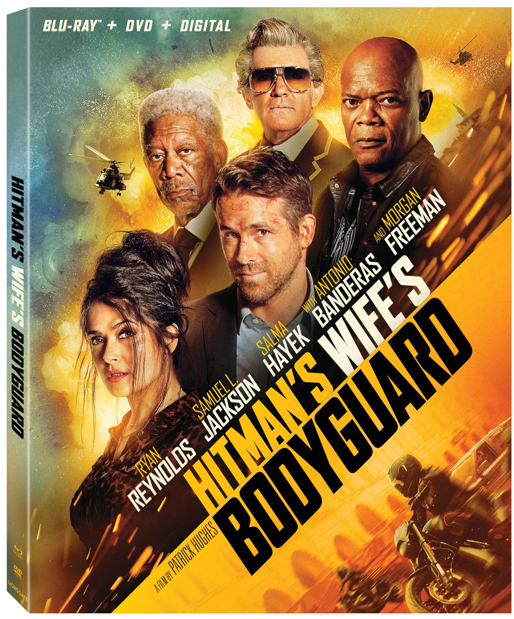 THE HITMAN'S WIFE'S BODYGUARD Blu-ray Review