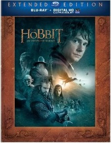 The Hobbit an Unexpected Journey Extended Blu-ray