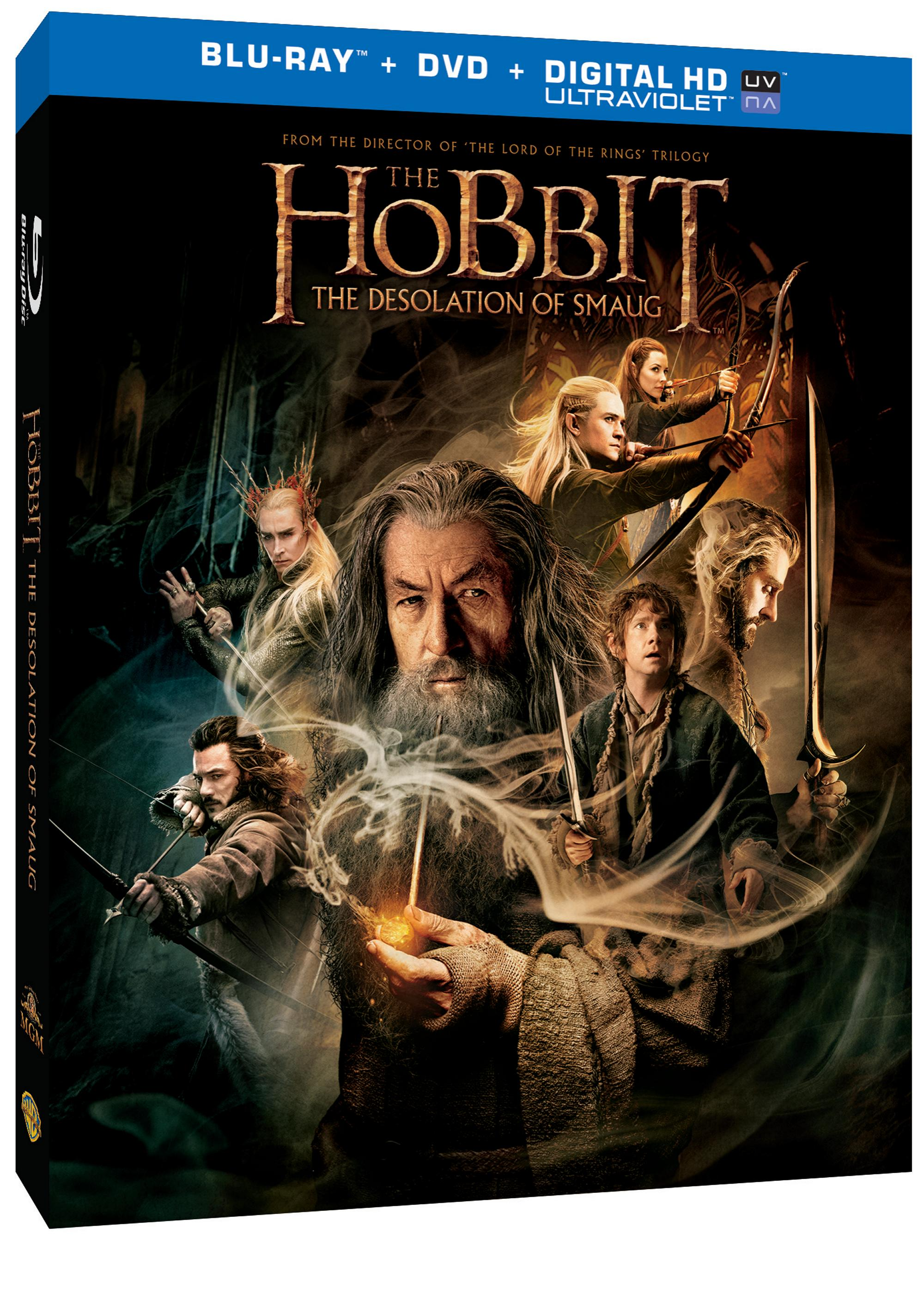 The Hobbit The Desolation of Smaug Blu-ray