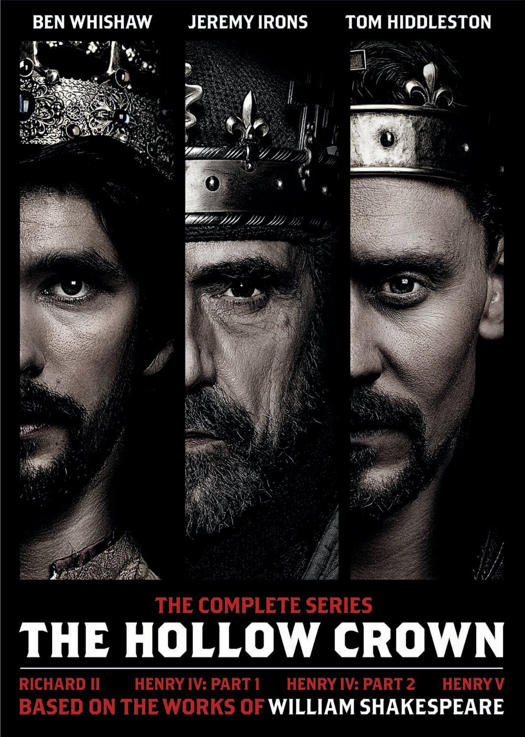 The Hollow Crown The Complete Series DVD