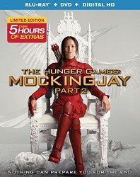 The Hunger Games Mockingjay Part 2 Blu-ray Cover