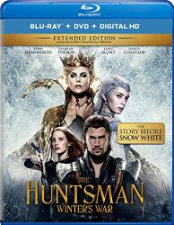 The Huntsman Winter's War Blu-ray