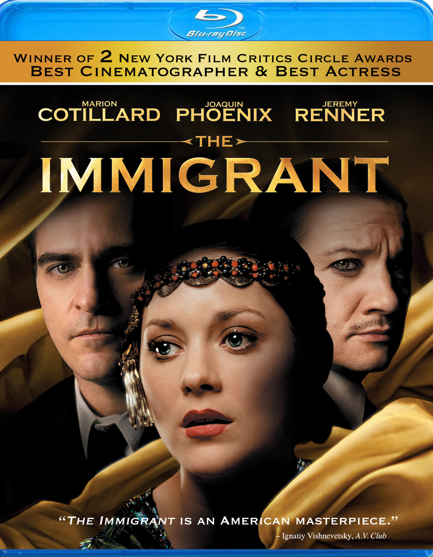 The Immigrant Blu-ray Review