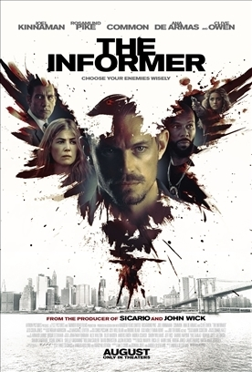 THE INFORMER Release Poster