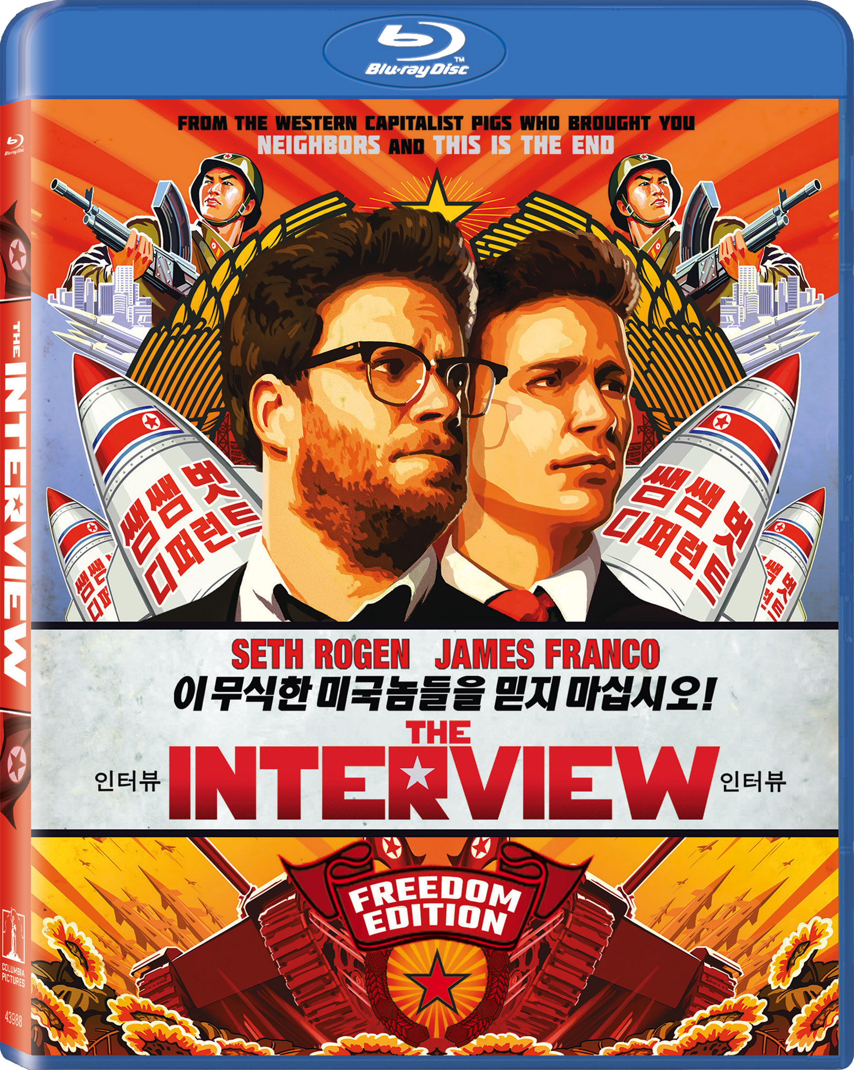 The Interview Blu-ray Review