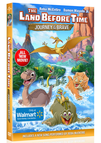The Land Before Time: Journey of The Brave DVD Review
