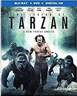 The Legend of Tarzan (Blu-ray + DVD + Digital HD)