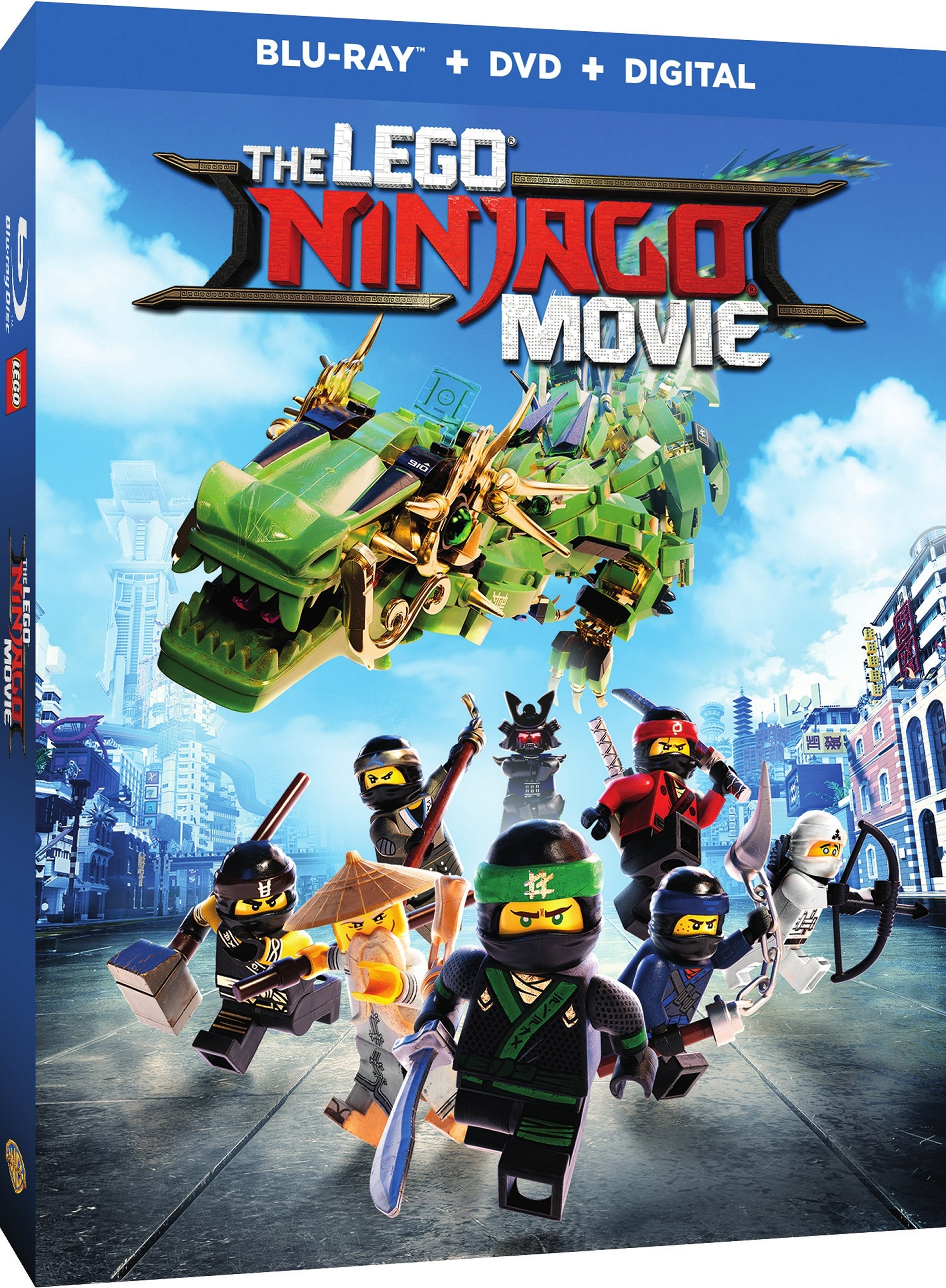 The Lego Ninjago Movie Blu-ray Review