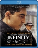 The Man Who Knew InfinityBlu-ray Cover