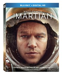 The Martian (Blu-ray + DVD + Digital HD)