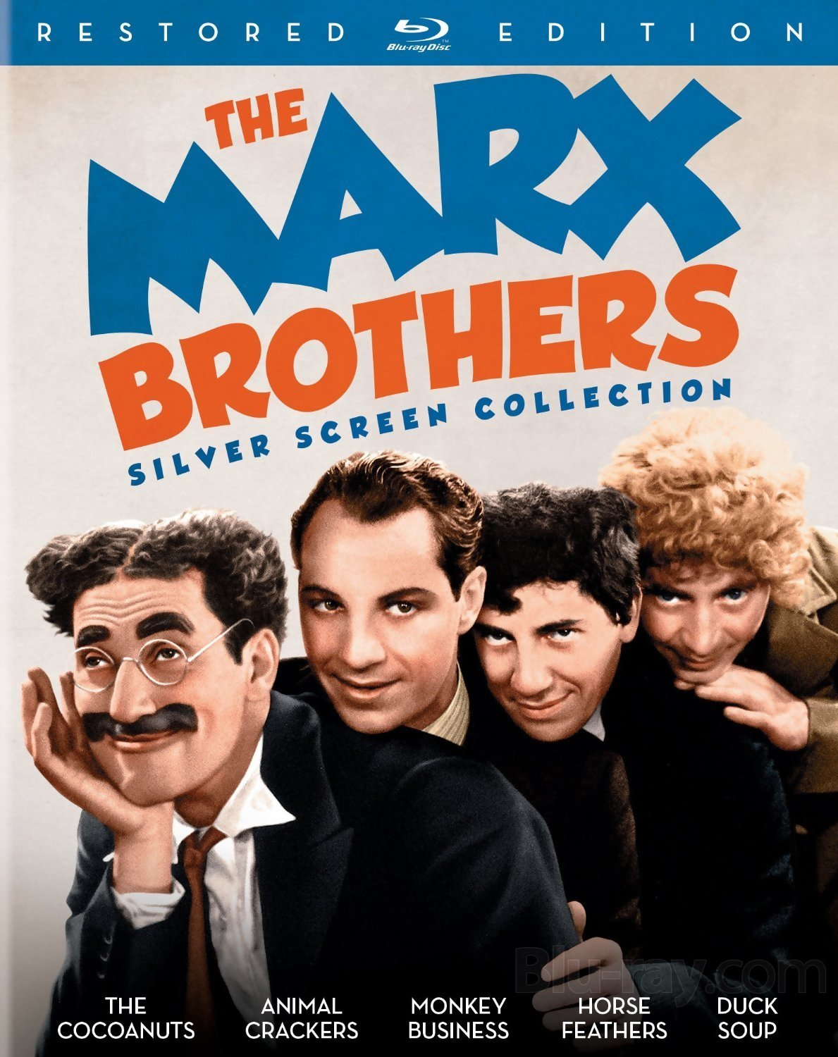 THE MARX BROTHERS SILVER SCREEN COLLECTION Blu-ray