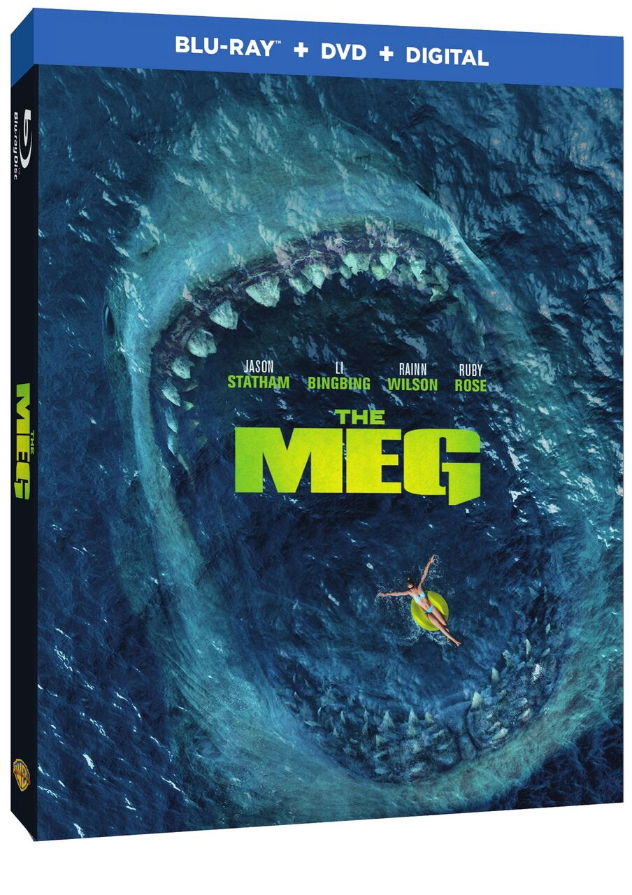 THE MEG Blu-ray