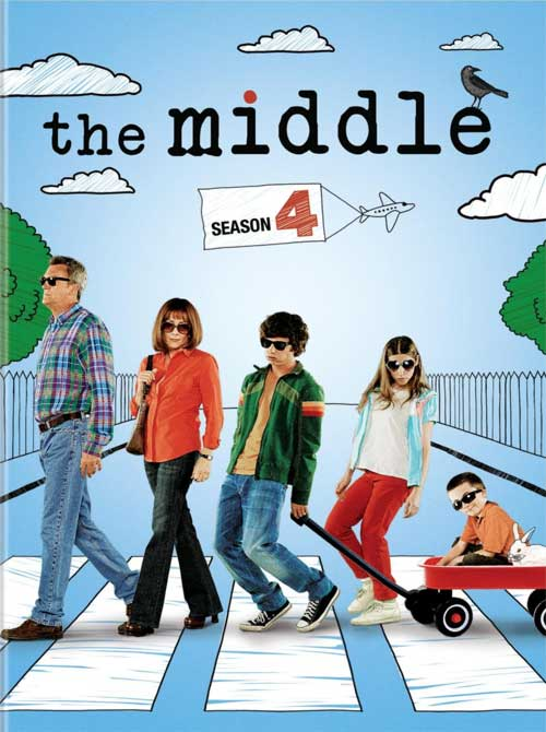 The Middle Season 4 DVD