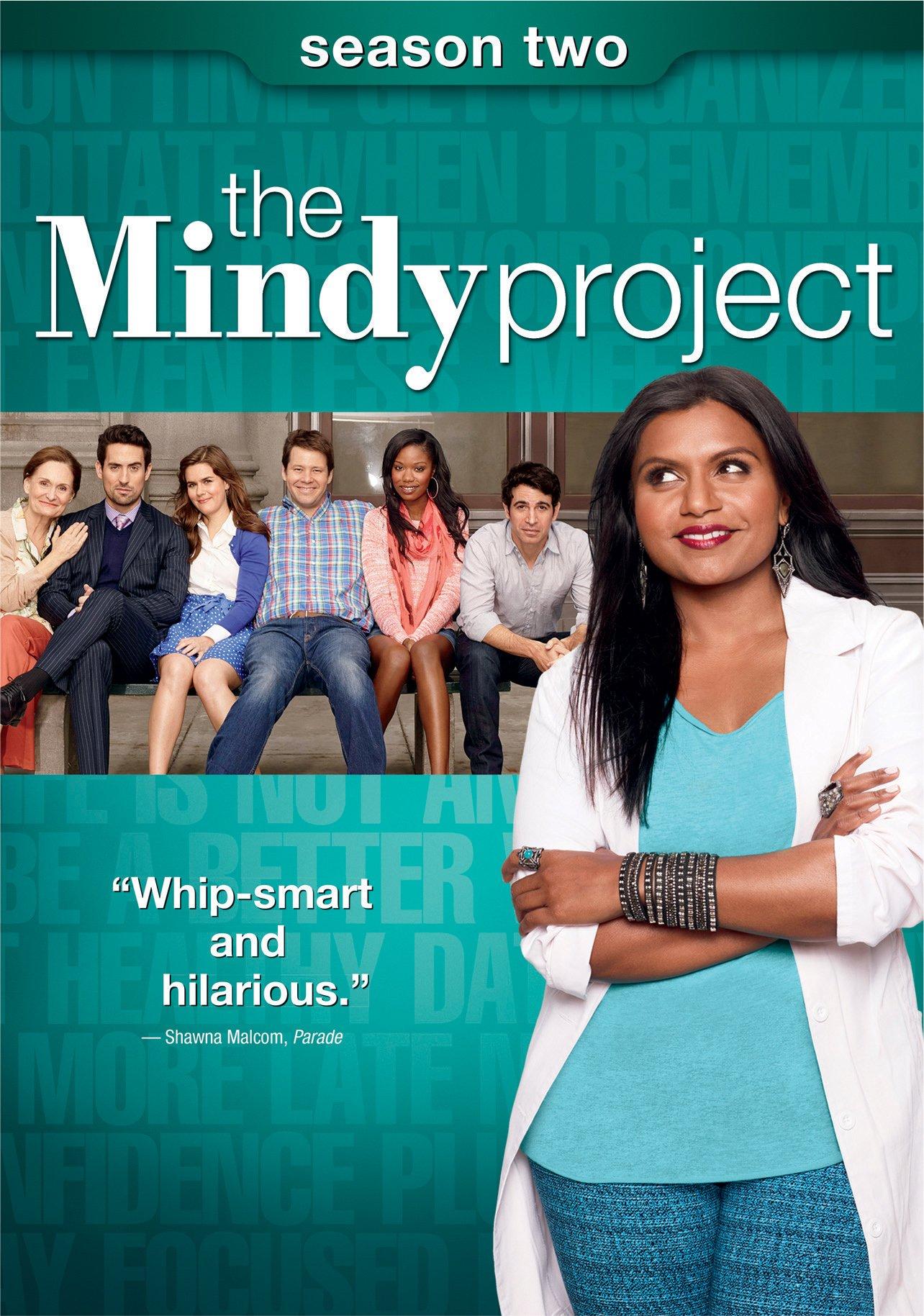 THE MINDY PROJECT SEASON 2 DVD