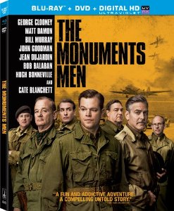 The Monuments Men (+Ultraviolet Digital Copy) [Blu-ray] DVD