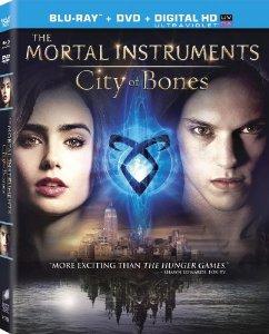The Mortal Instruments: City of Bones Blu-ray