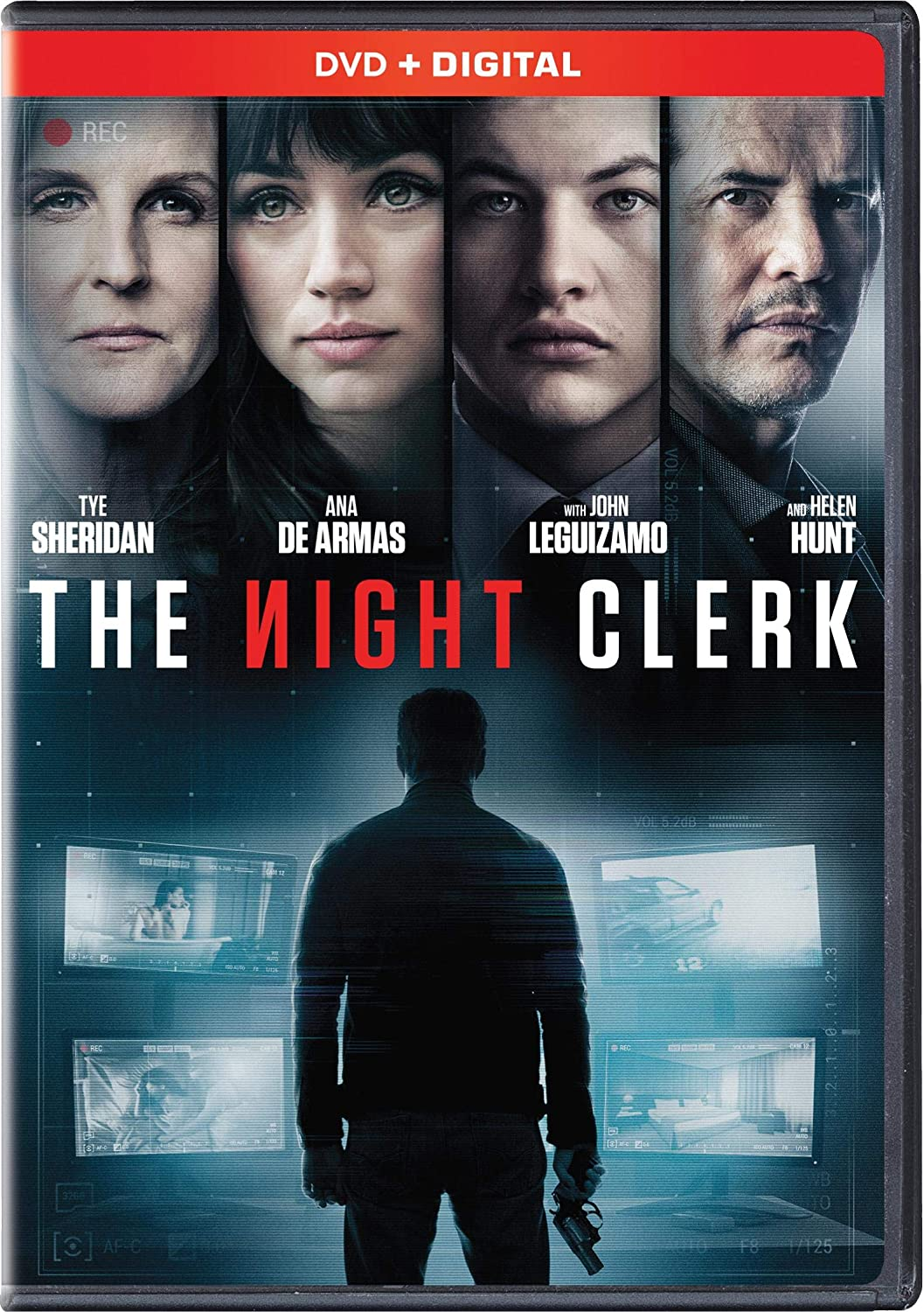 THE NIGHT CLERK  Blu-ray